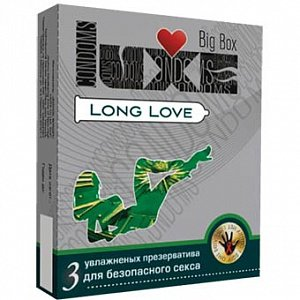Биг Бокс Luxe Long Love (40% дольше) 3 шт.