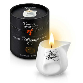 826011 Свеча с массажным маслом Шоколад MASSAGE CANDLE CHOCOLATE 80 мл
