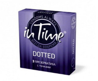 Презервативы In Time Dotted (точечные) 3 шт